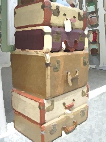 Image d'une pile de valises...